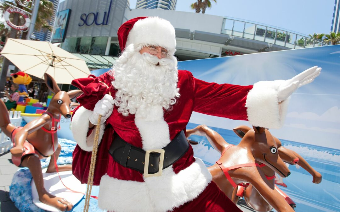 Catch the Summer-y Christmas in Surfers Paradise