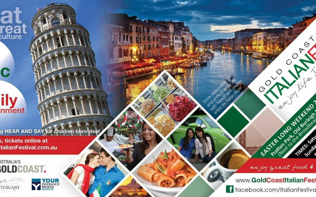 Prepare to Experience a Taste of Italy