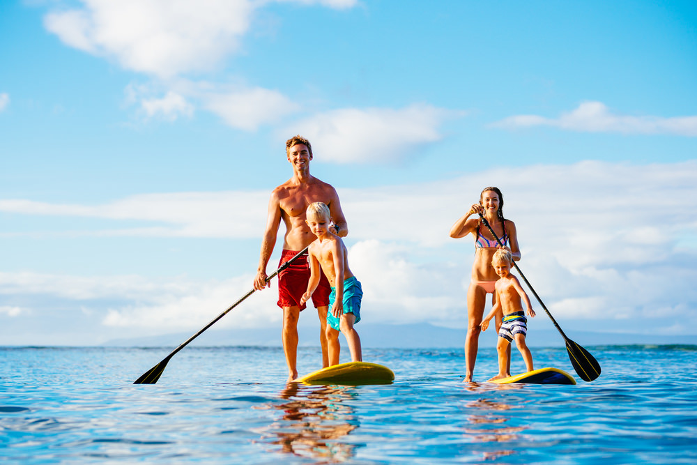 Stand Up Paddle SUP Surfers Paradise